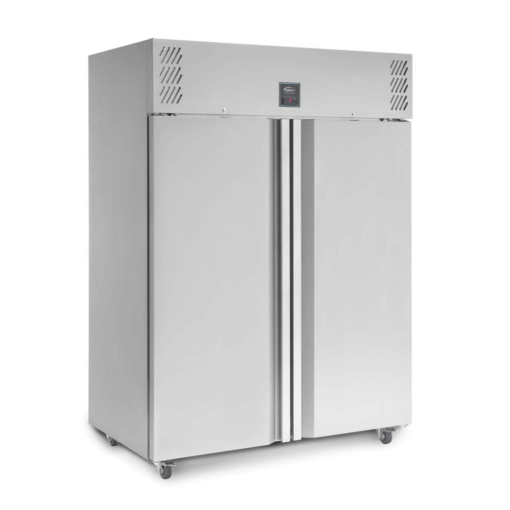 Jade Two Door Upright Refrigerated Cabinet - Closed
