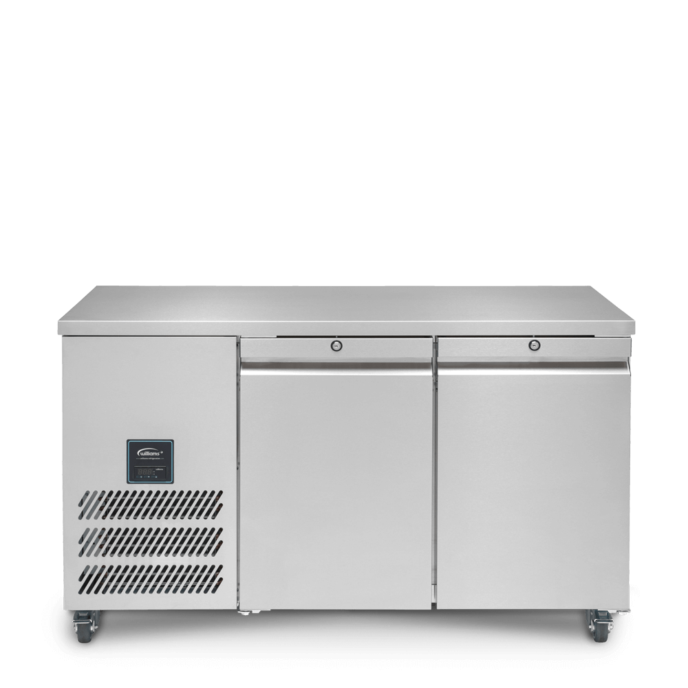 Jade Two Door Refrigerated Counter - Front on - Closed