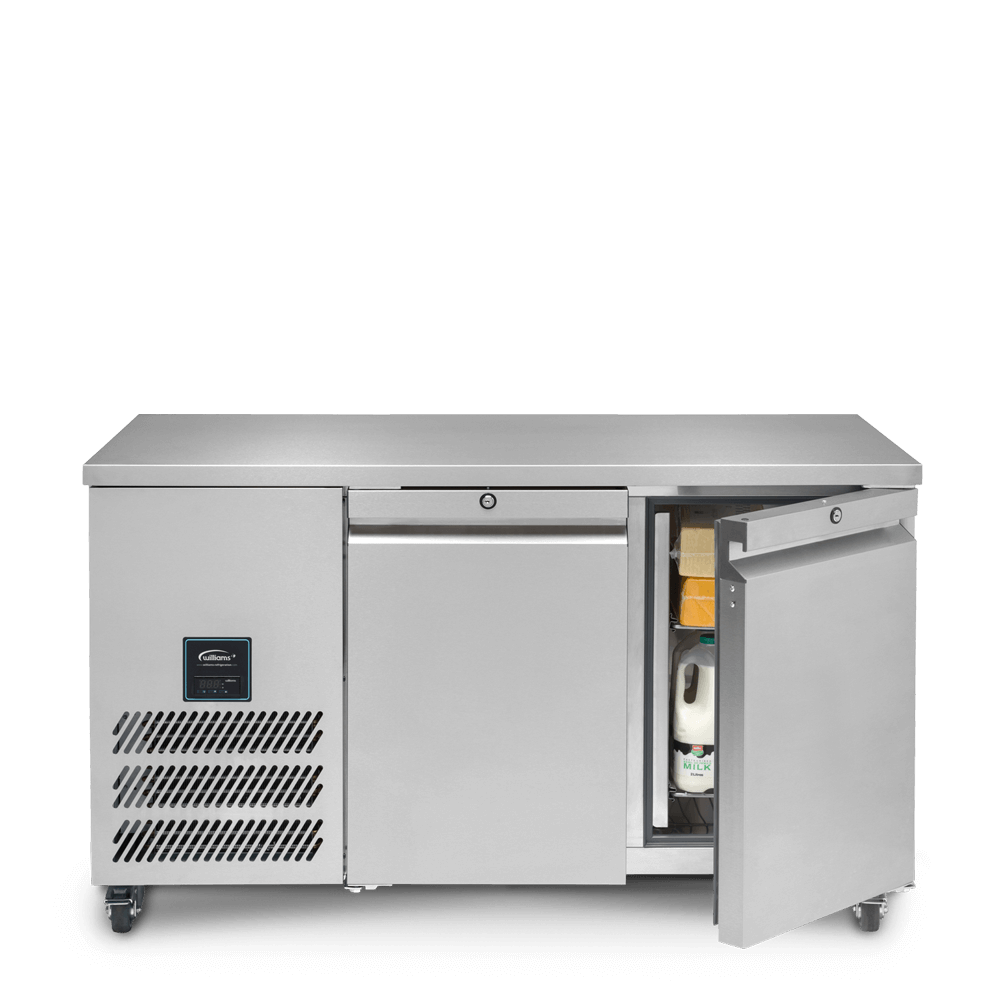 Jade Two Door Refrigerated Counter - Front On - Open