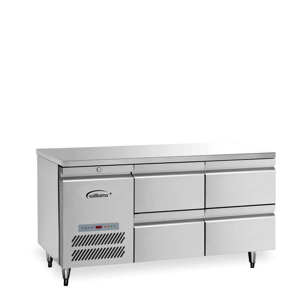 Opal Two Door Counter with Drawers