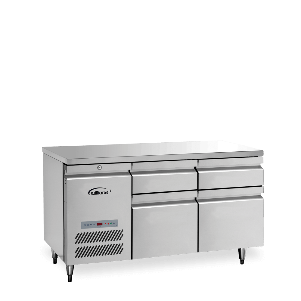 Opal Two Door Counter with bank of two drawers