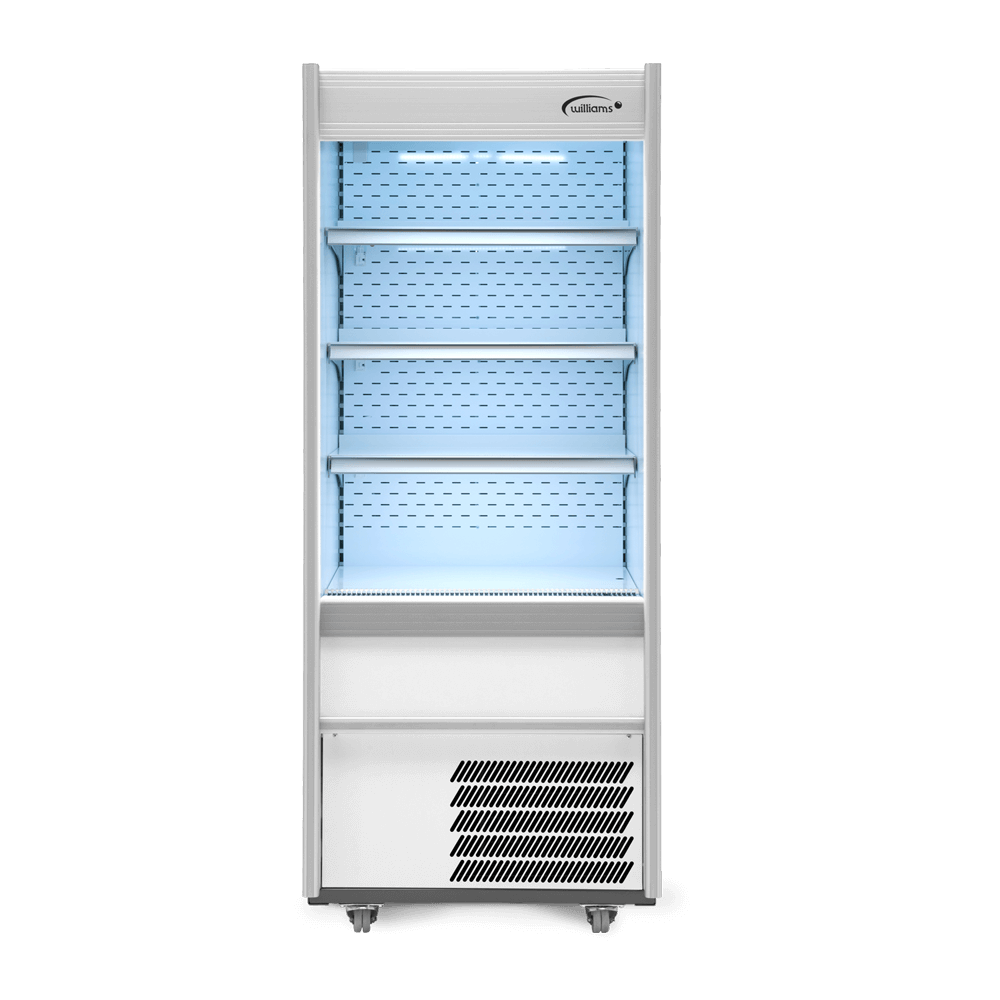 R70WCN - Refrigerated Multideck - Front On - Lit