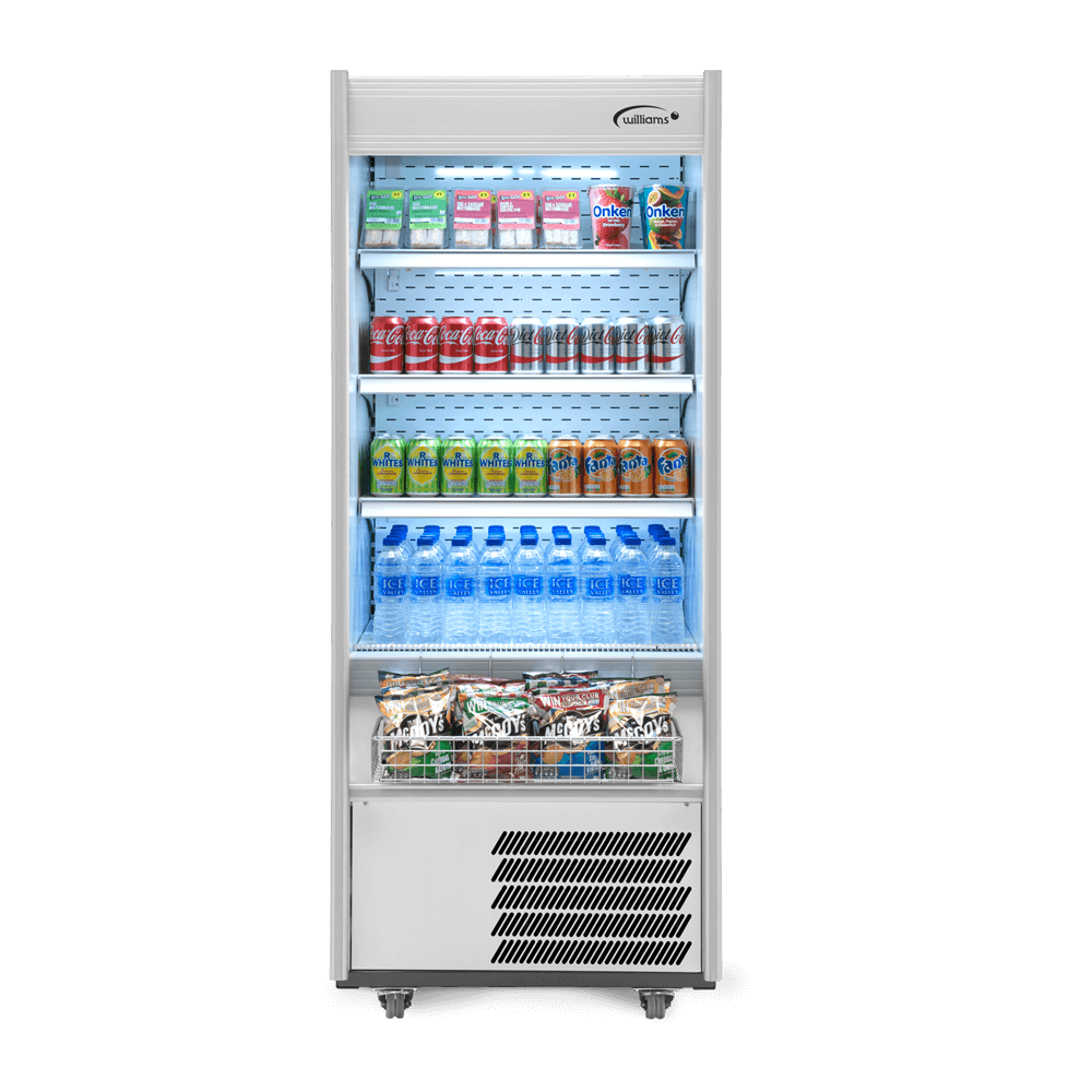 R70WCN - Refrigerated Multideck - Front On - Stocked
