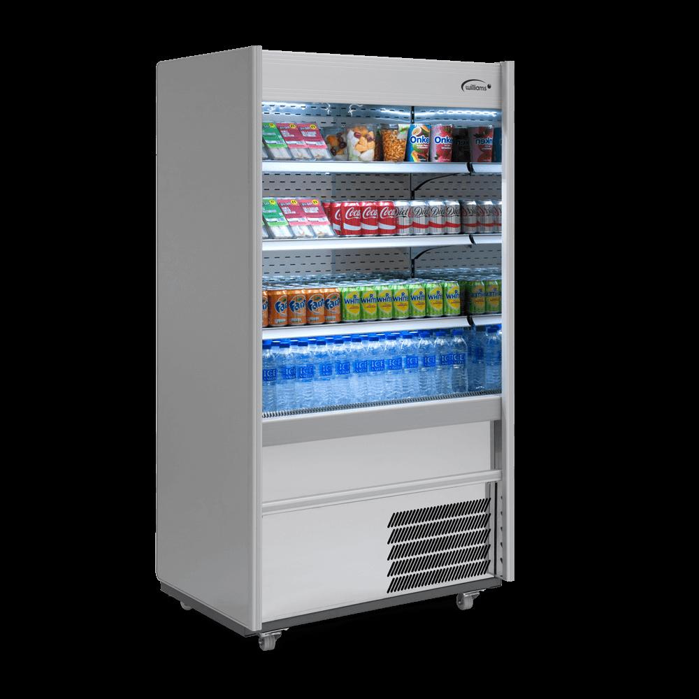 R100SCN - Refrigerated Multideck - Side On - Stocked
