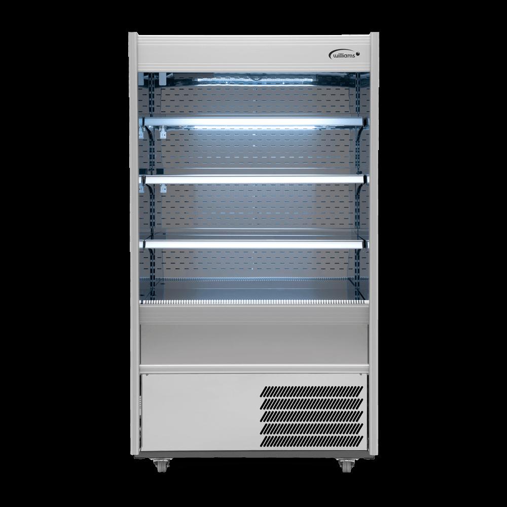 R100SCN - Refrigerated Multideck - Front On - Lit