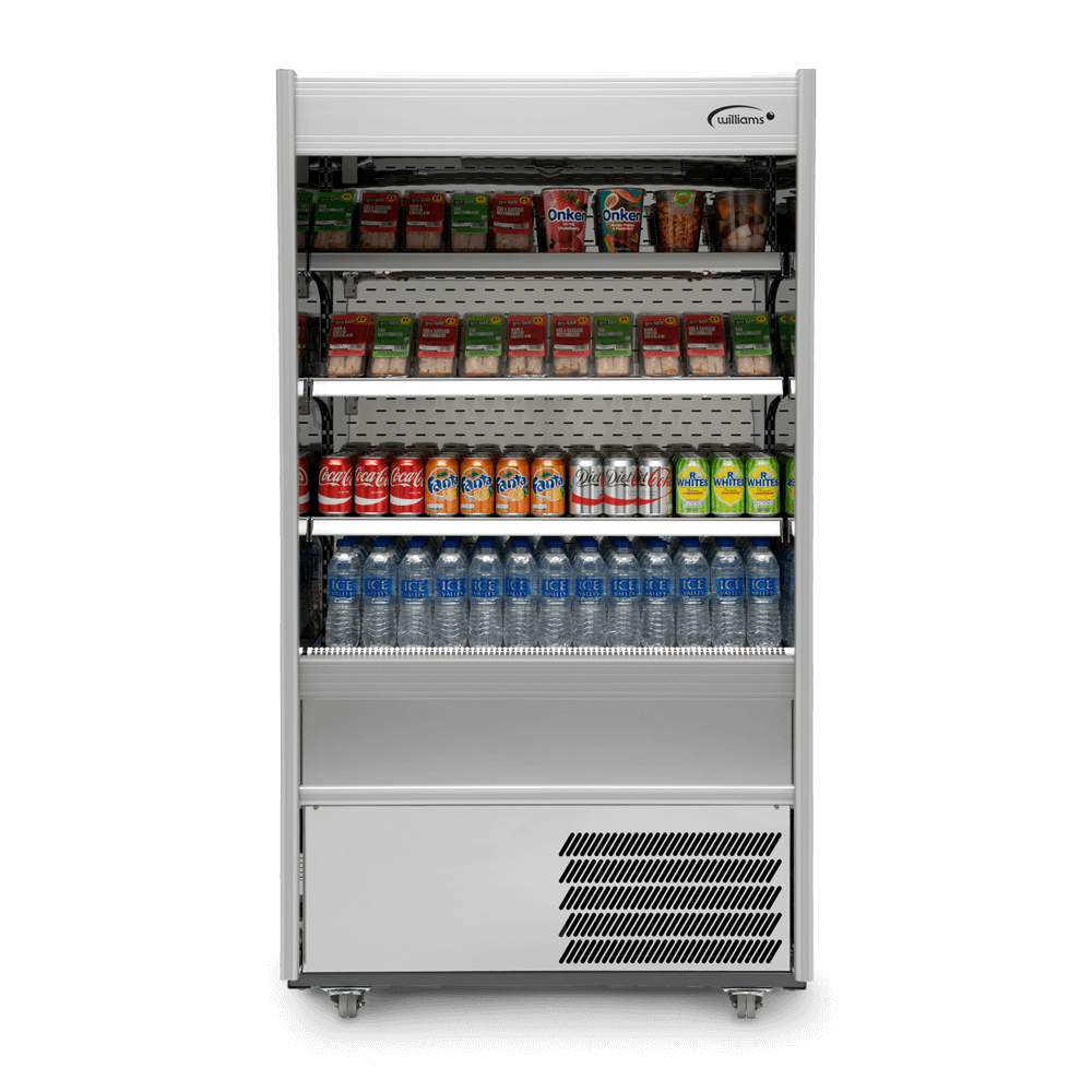 R100SCN - Refrigerated Multideck - Front On - Stocked