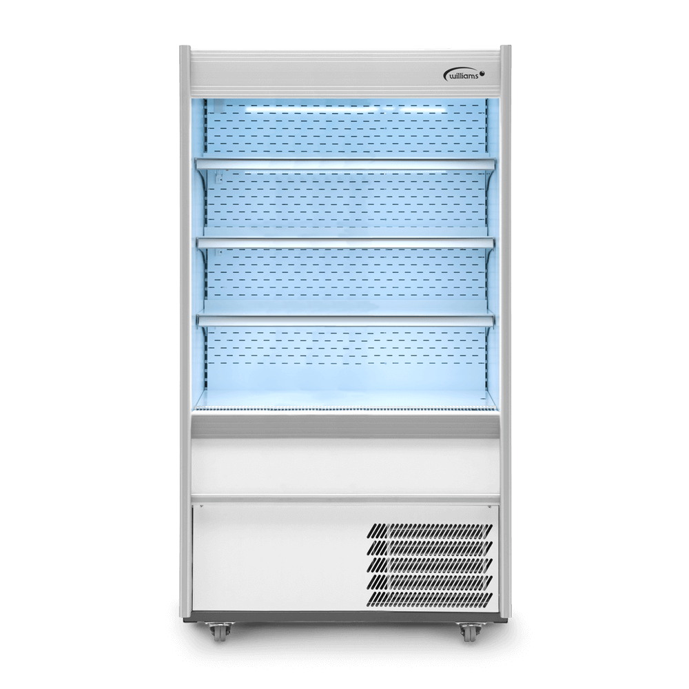 R100WCN - Refrigerated Multideck - Front On - Lit