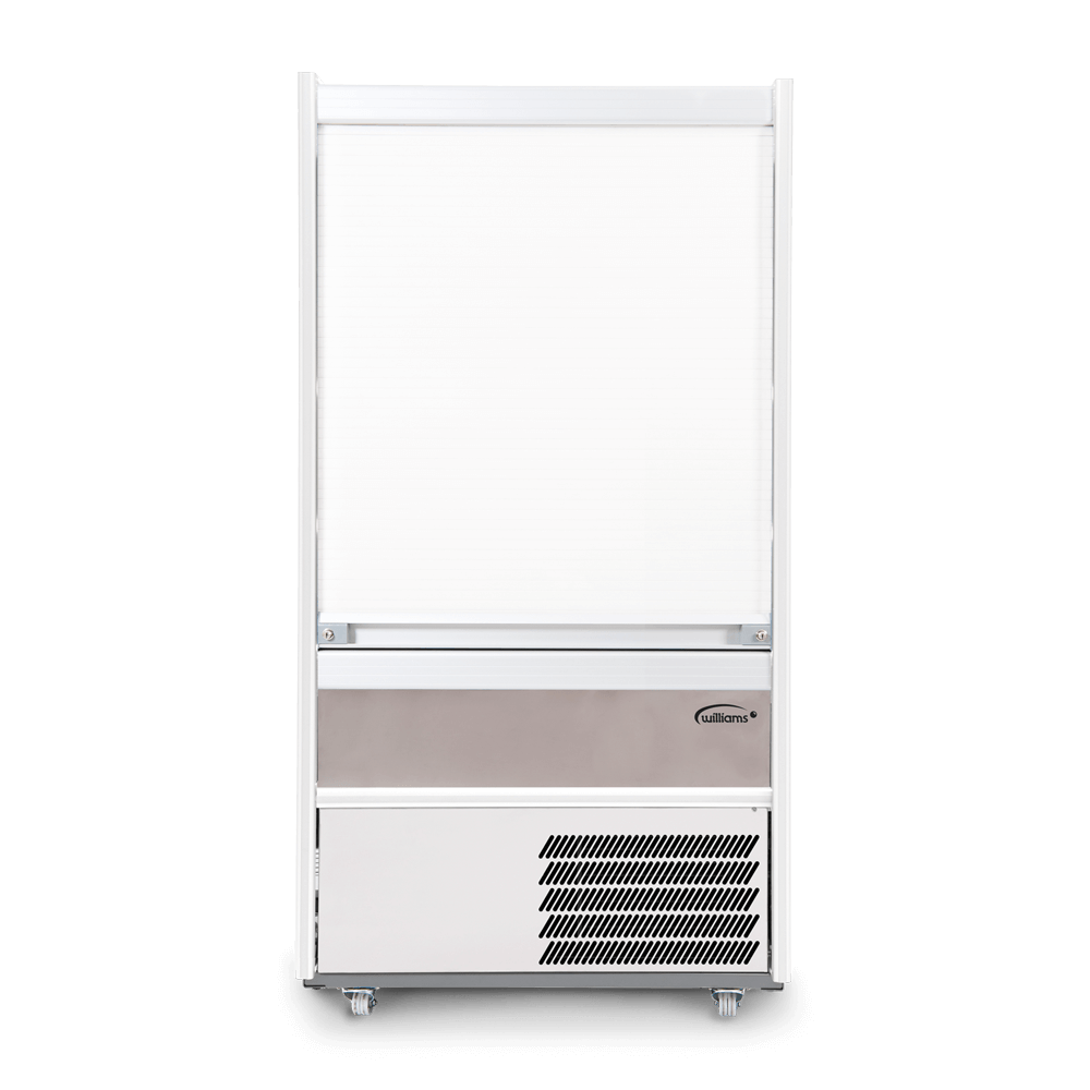 R100SCS - Refrigerated Multideck - Security Shutter - Front On