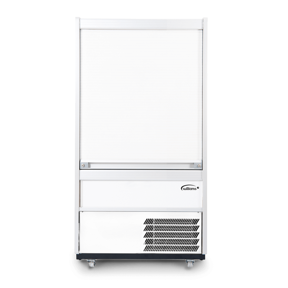 R100WCS - Refrigerated Multideck - Security Shutter - Front On