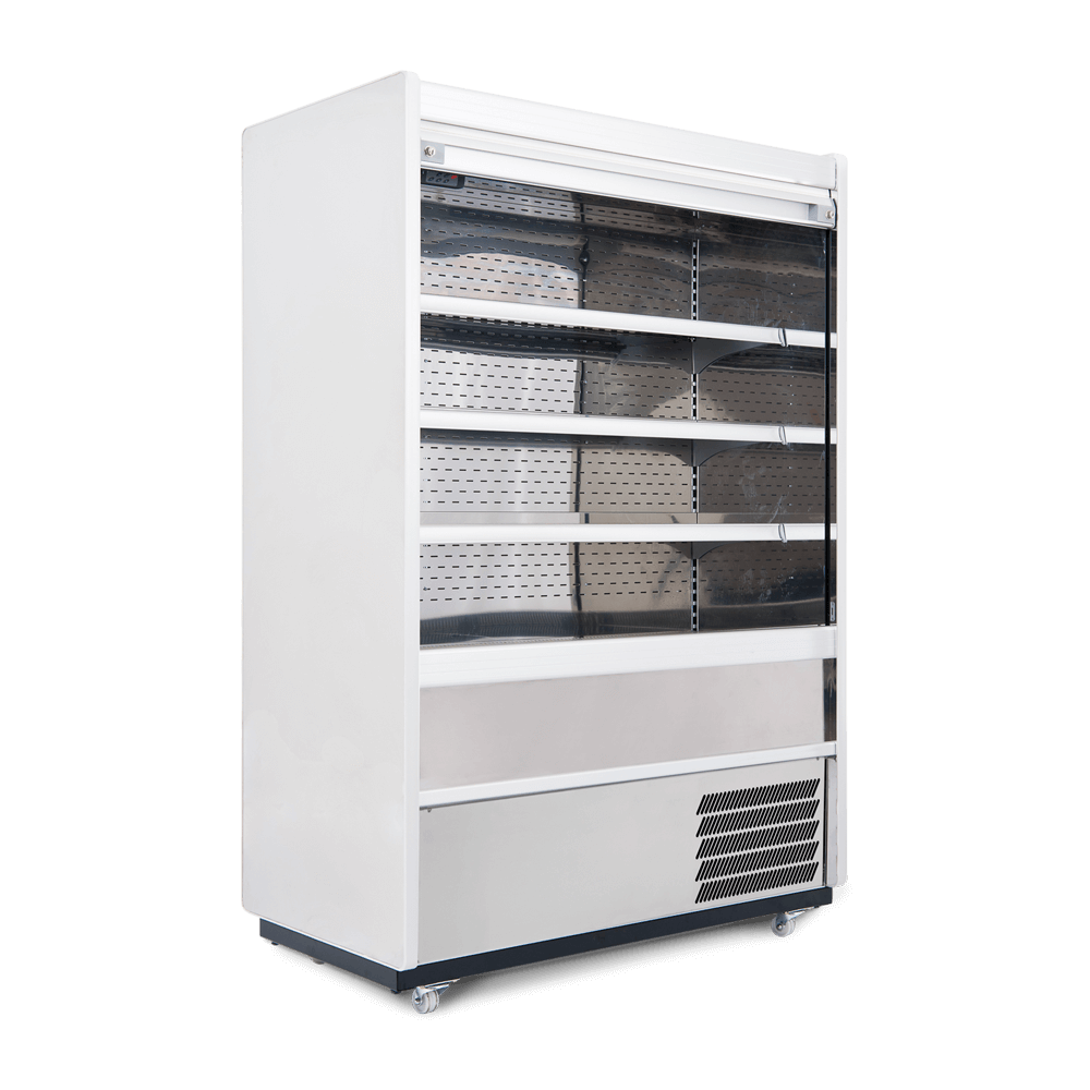 R125SCS - Refrigerated Multideck - Security Shutter - Side On