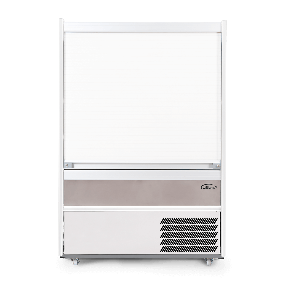 R125SCS - Refrigerated Multideck - Security Shutter Closed - Front On