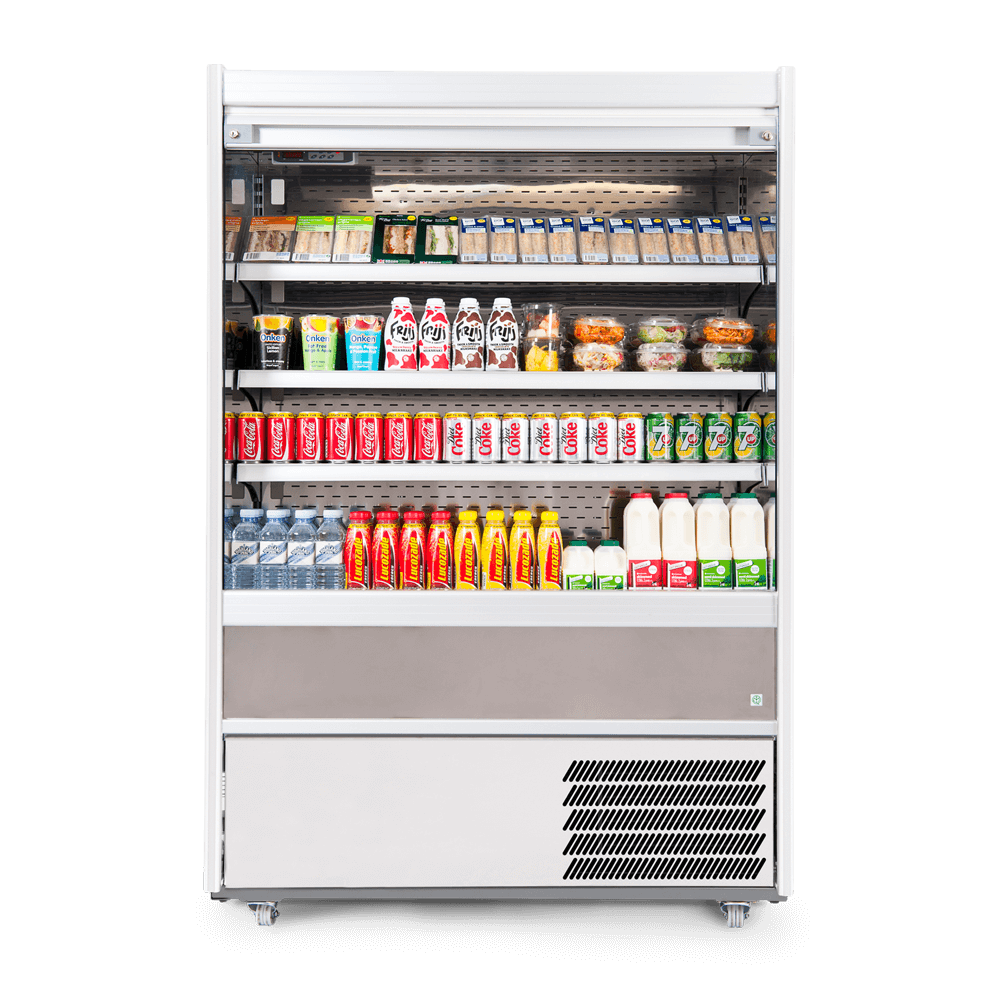 R125SCS - Refrigerated Multideck - Security Shutter - Stocked - Front On