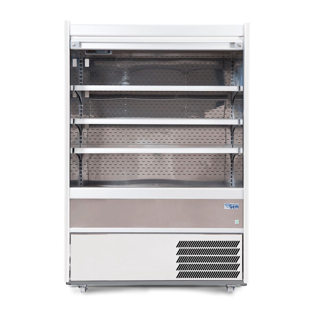 R125SCS - Refrigerated Multideck - Security Shutter - Front On