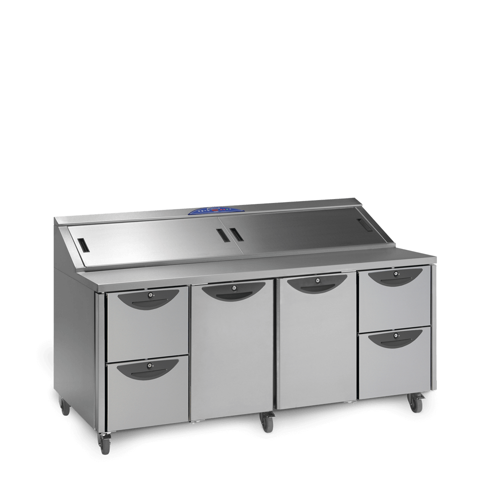 Onyx CPC4 - Preparation Counter with Drawers - Closed