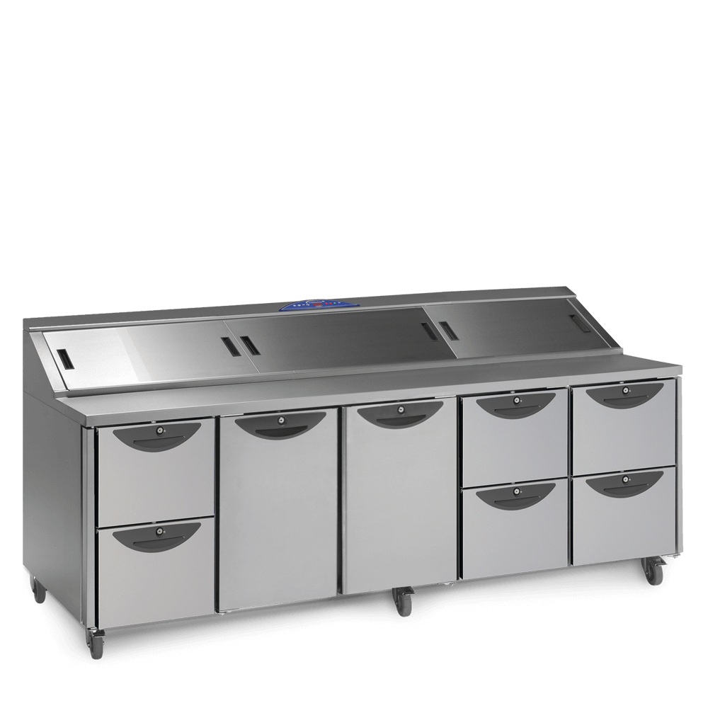 CPC5 Onyx Prep Counter with Drawers