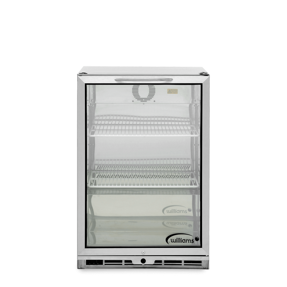 One Door Bottle Cooler - Front On - Empty