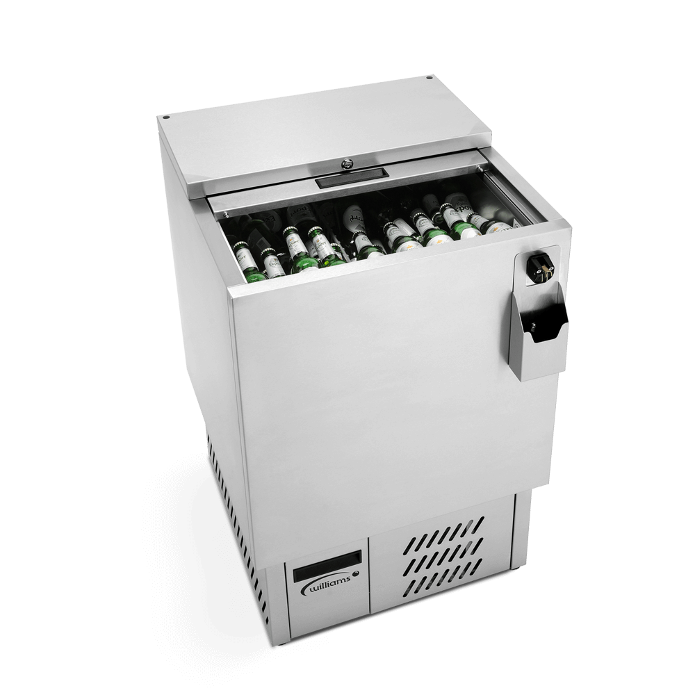 BW600 - 600litre Bottle Well - Side On - Overhead - Stocked