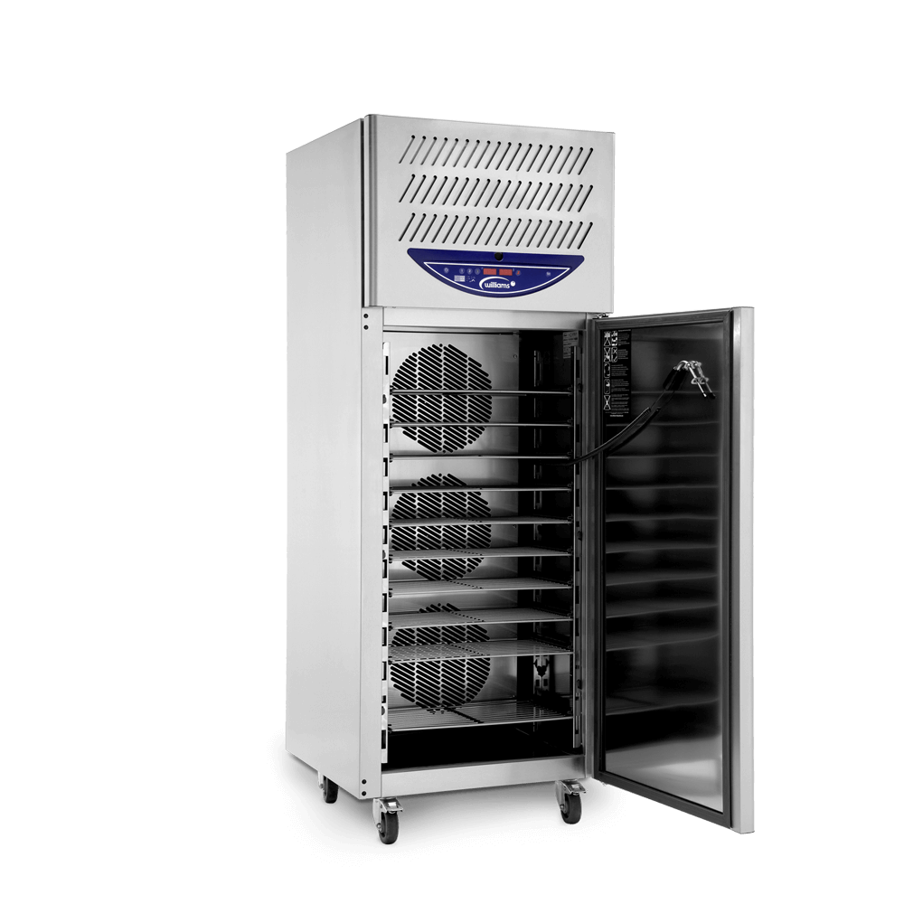WBCF50 Reach In Blast Chiller/Freezer - Side On - Open