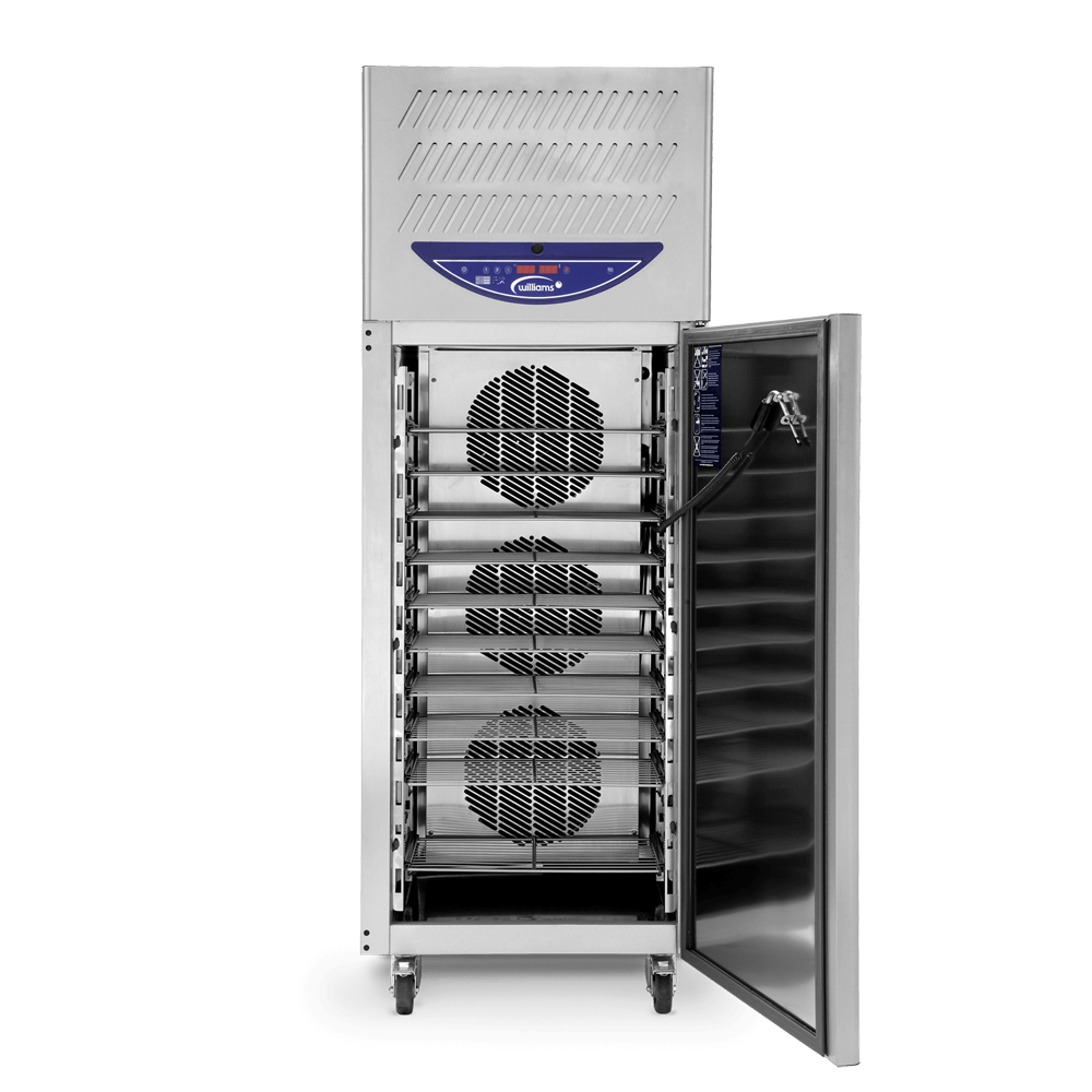 WBCF50 Reach In Blast Chiller/Freezer - Front on - Open
