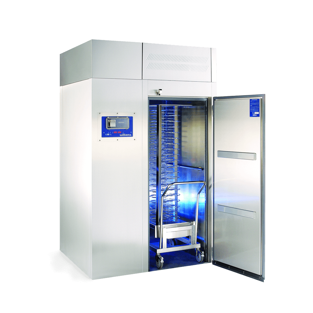 WMBC200 Roll in Blast Chiller - Open with Trolley