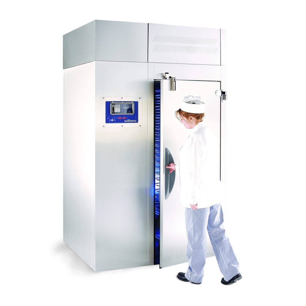 WMBC320 Roll in Blast Chiller with chef