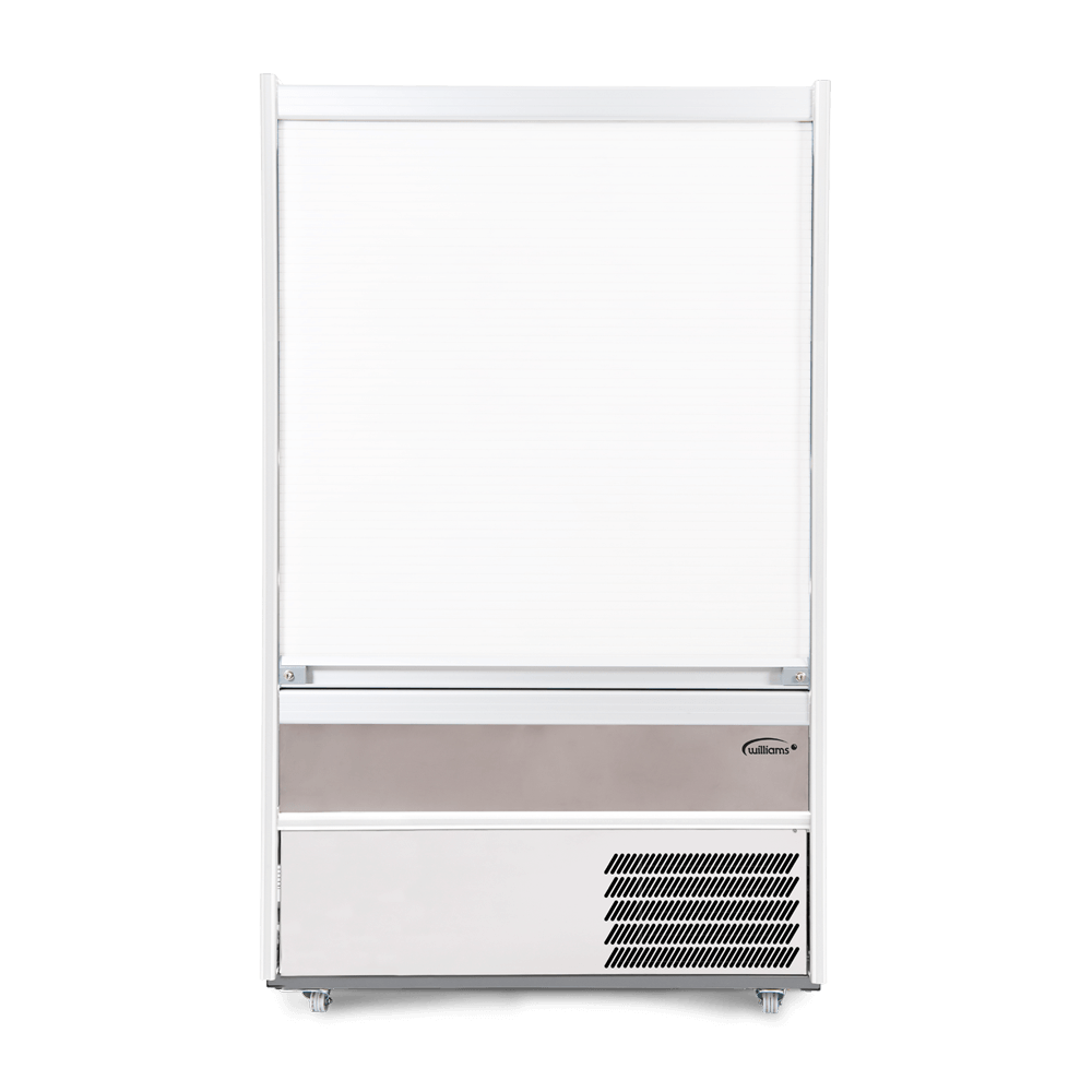 M125SCS - Refrigerated Multideck - Security Shutter Closed - Front On