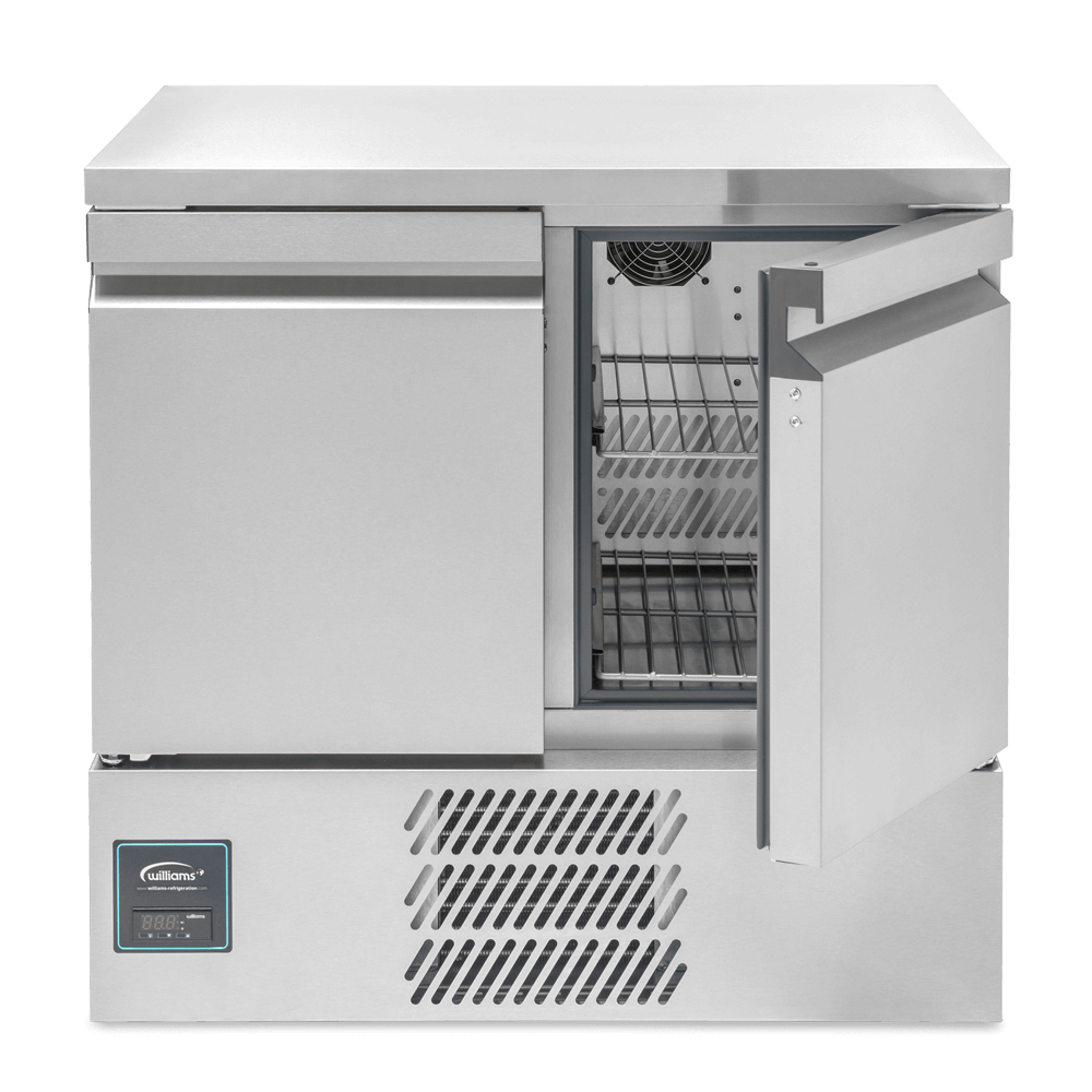 Aztra AZ10CT Two Door Undercounter Refrigerated Cabinet - Front On - Closed