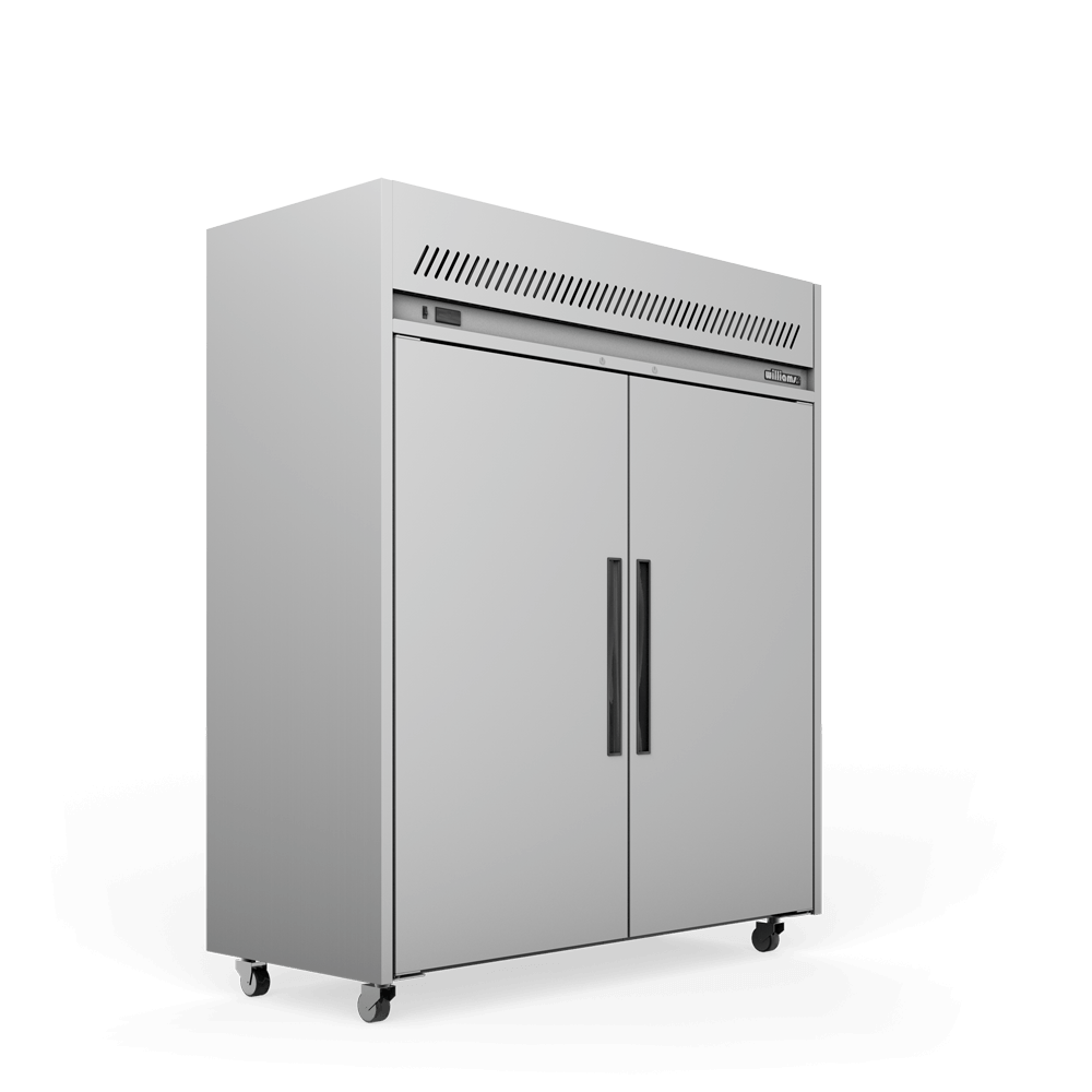 Upright Sapphire Refrigerated Cabinet - Doors Closed - Side On