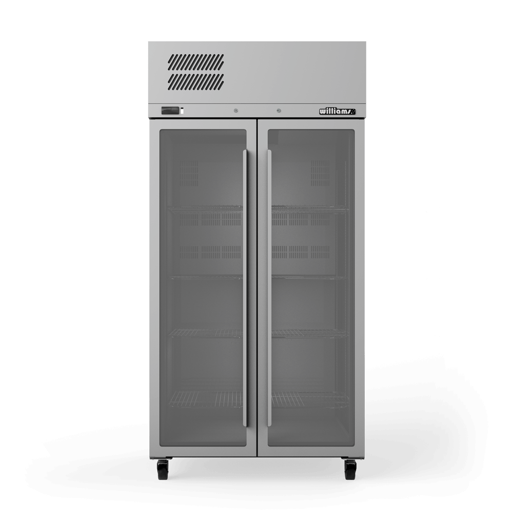 Upright Ruby Star RS2 Cabinet - Glass Doors - Front On