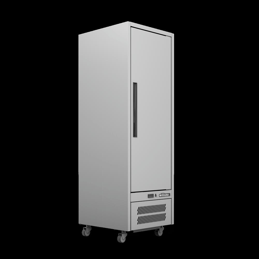 Upright Quartz Q1 Cabinet - Solid Door - Side On