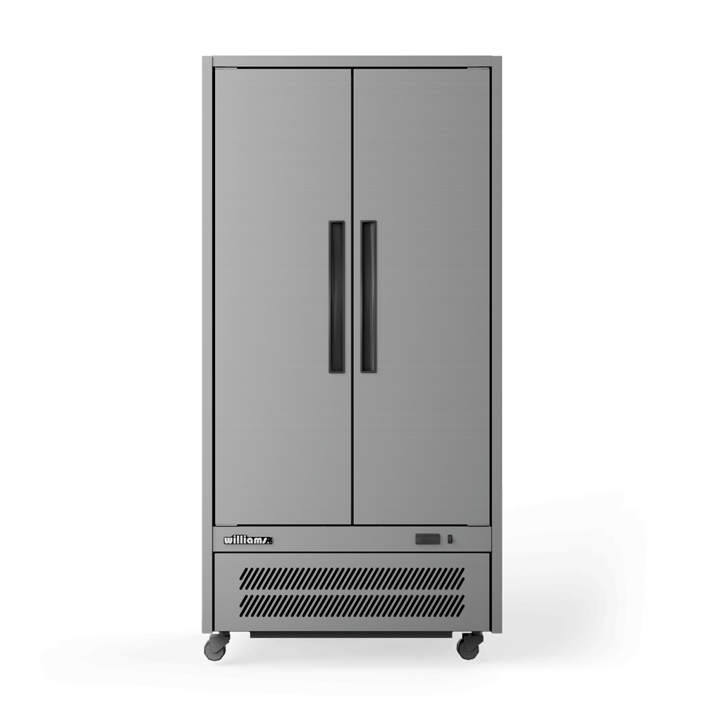 Upright Quartz Q2 Cabinet - Solid Doors - Front On