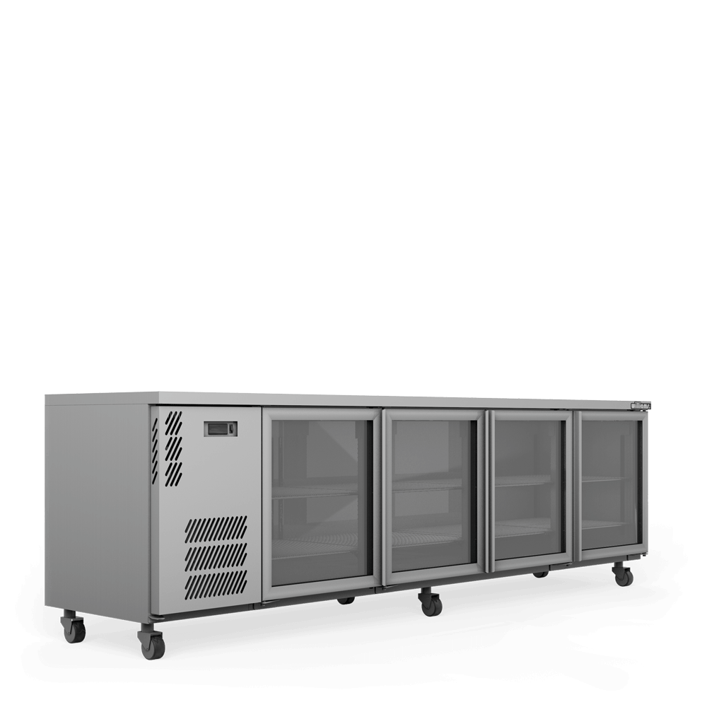 Boronia Star - BS4U - Glass Doors - Side On