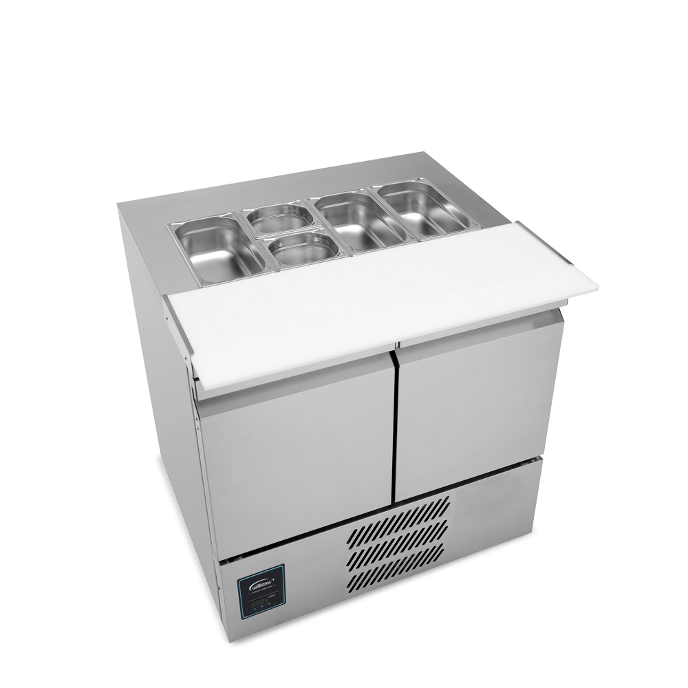 SU10CT - Two Door Salad Preparation Counter - Side On