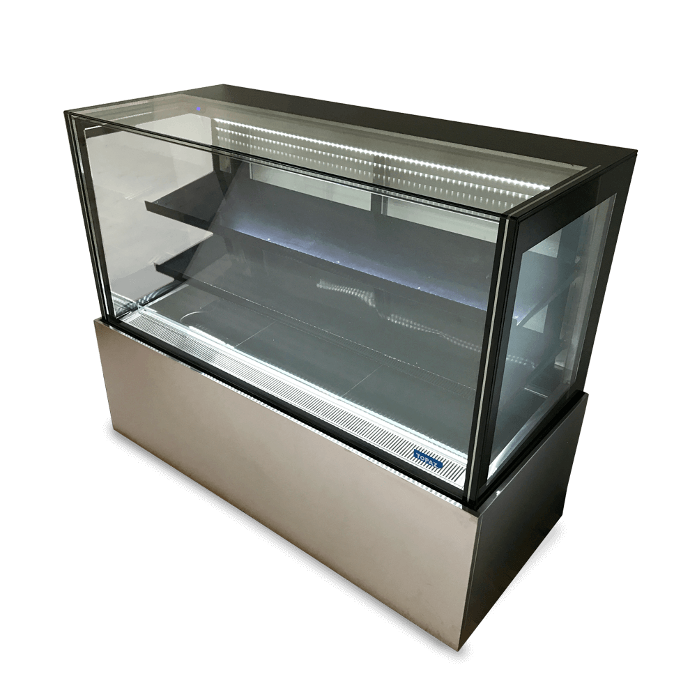 Topaz Cake Display - TCF15 - Side On