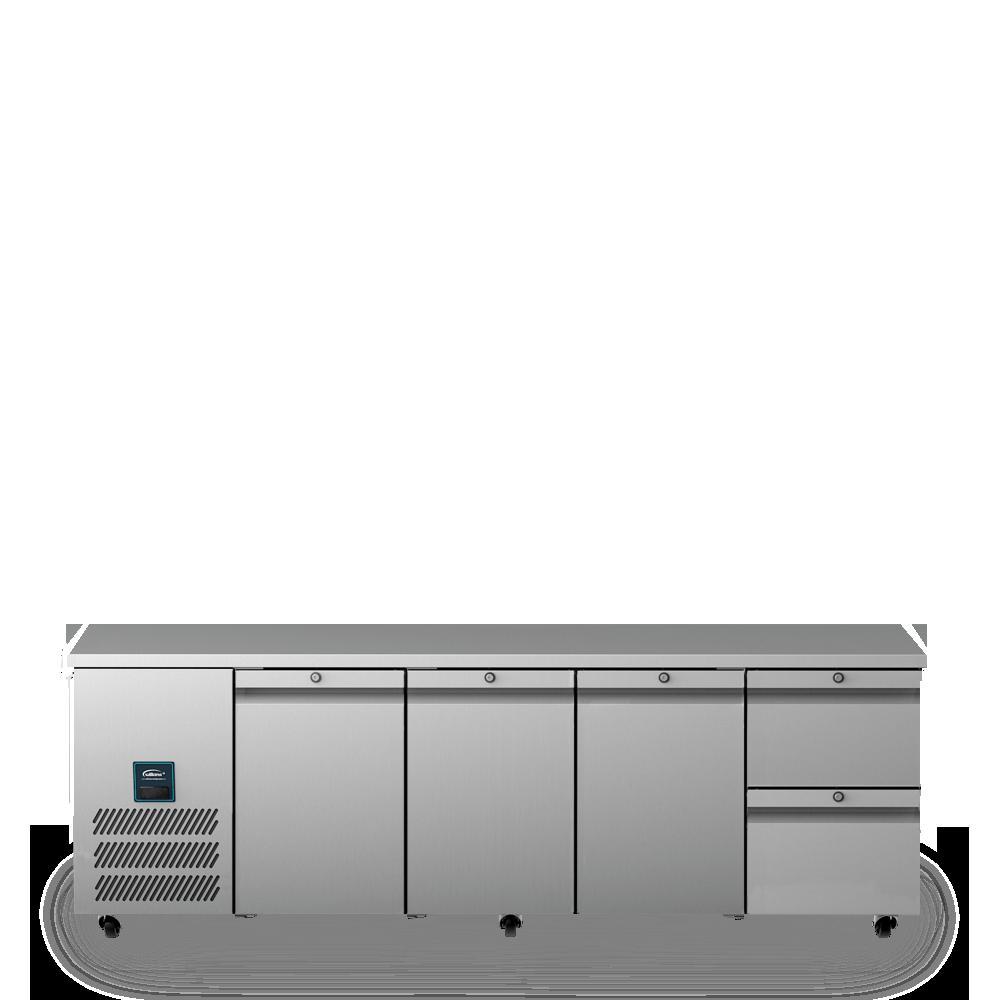 Jade Four Door Refrigerated Counter U1112