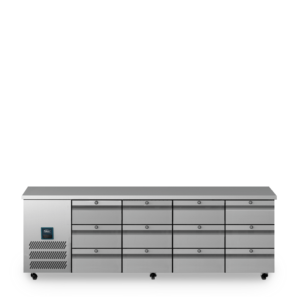Jade Four Door Refrigerated Counter U3333