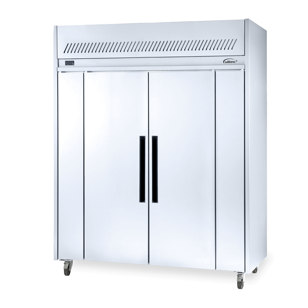 Two Door Upright Overnight Thaw Cabinet.