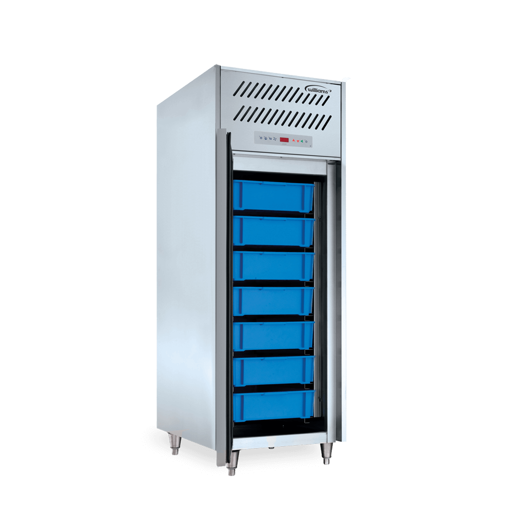 Top Mounted Upright Refrigerated Fish Cabinet - Zircon.