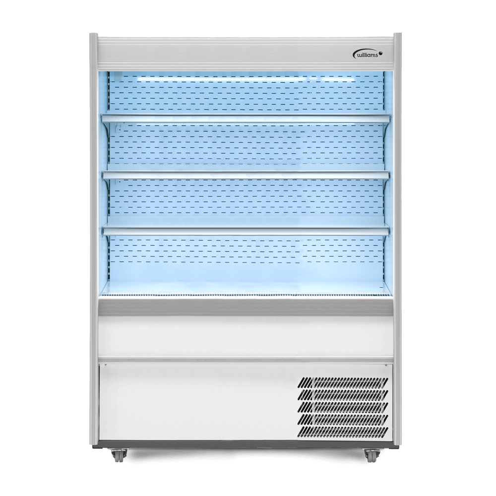 R125 - Refrigerated Multideck - Front On - Lit.