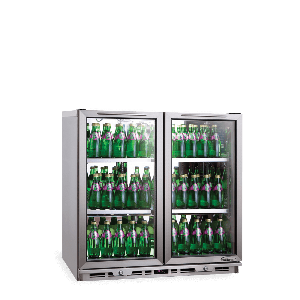 BC2 - Two Door Undercounter Bottle Cooler.