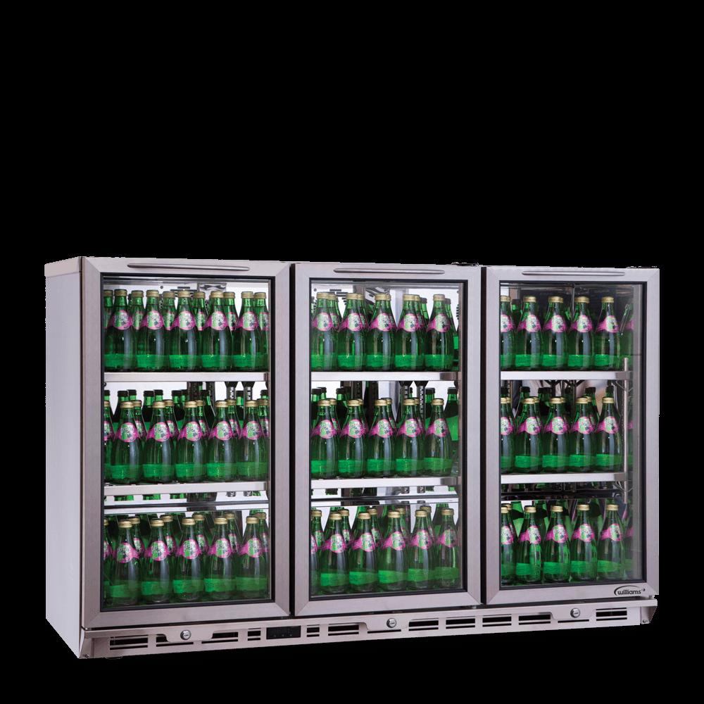 BC3 - Three Door Undercounter Bottle Cooler.
