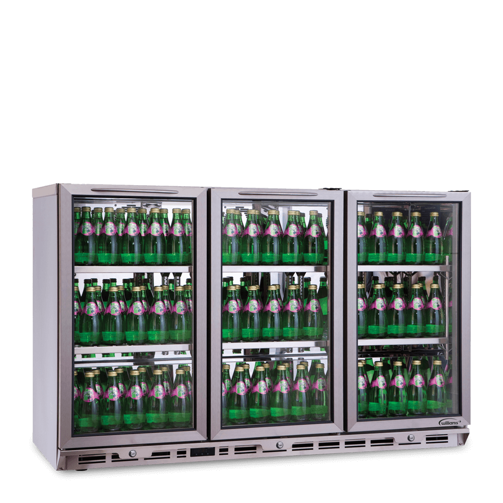 Counter Bottle Cooler 3 Doors BC3