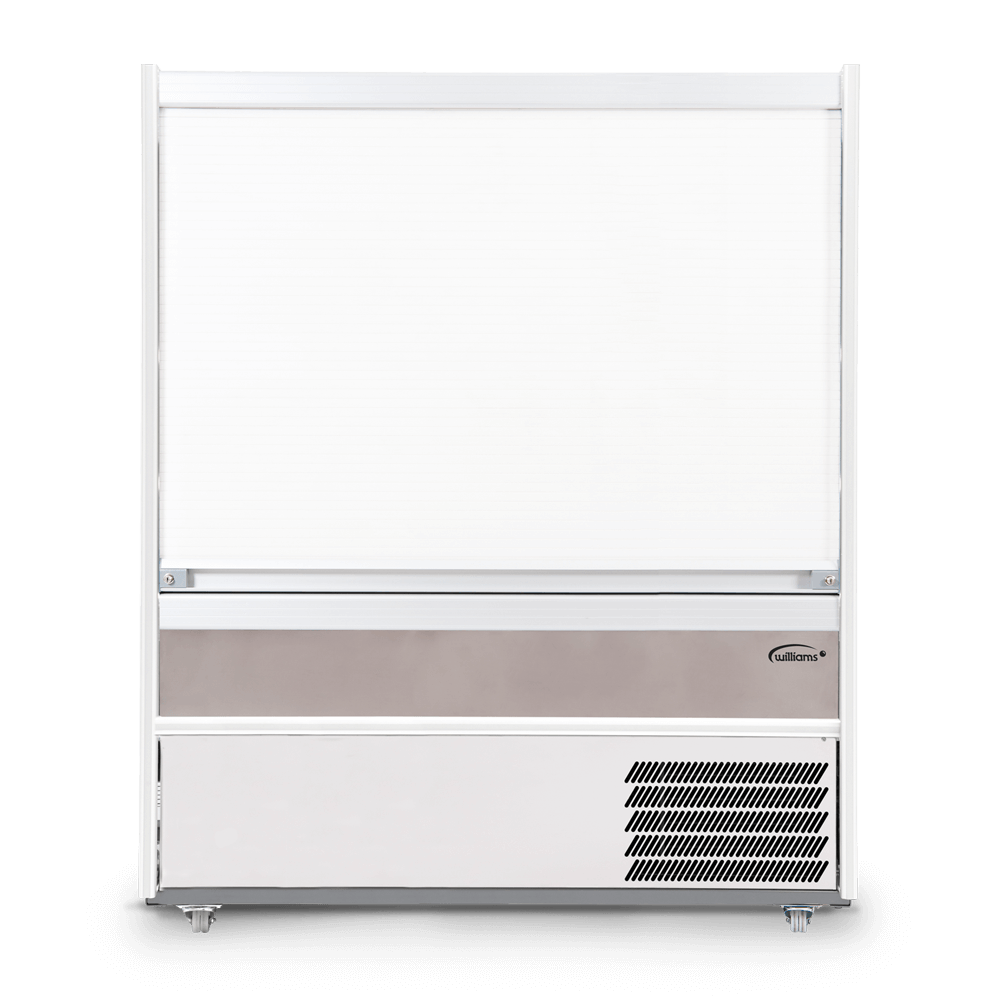 R150SCS - Refrigerated Multideck - Security Shutter Closed - Front On.