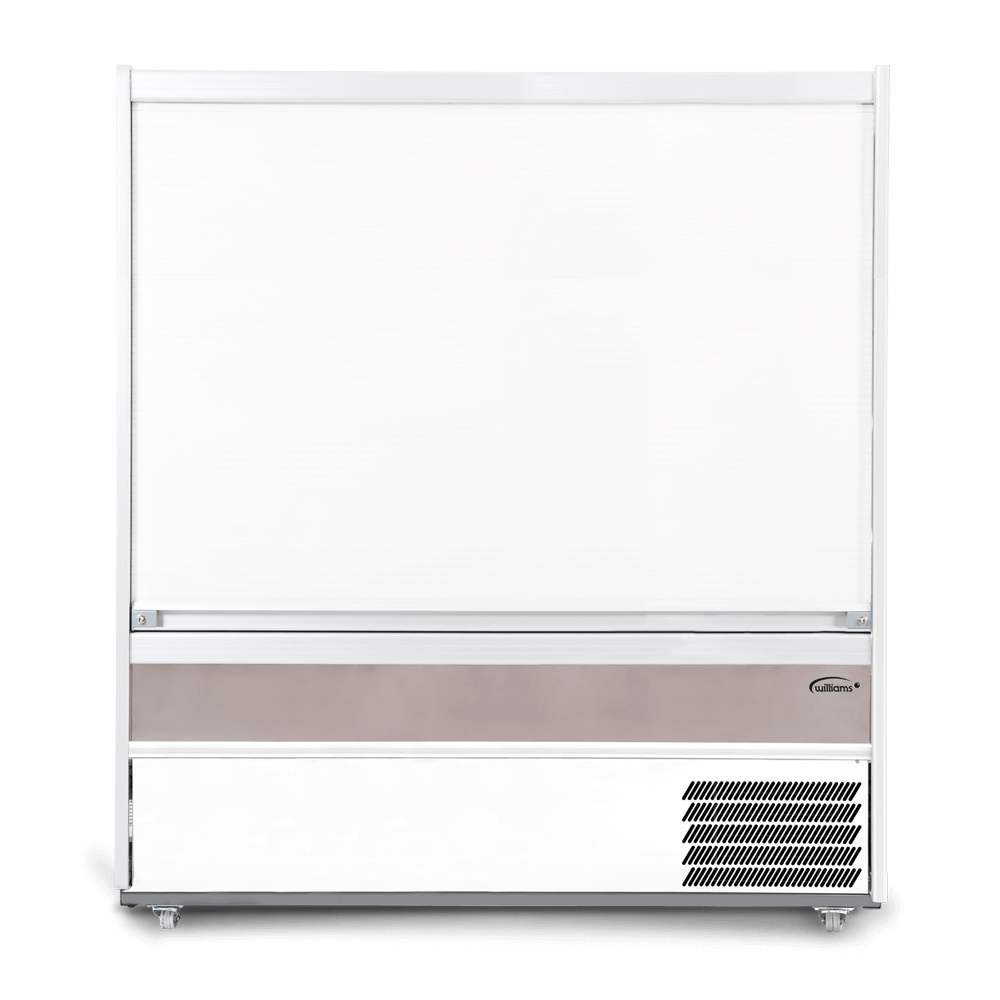 M180SCS - Refrigerated Multideck - Security Shutter Closed - Front On.