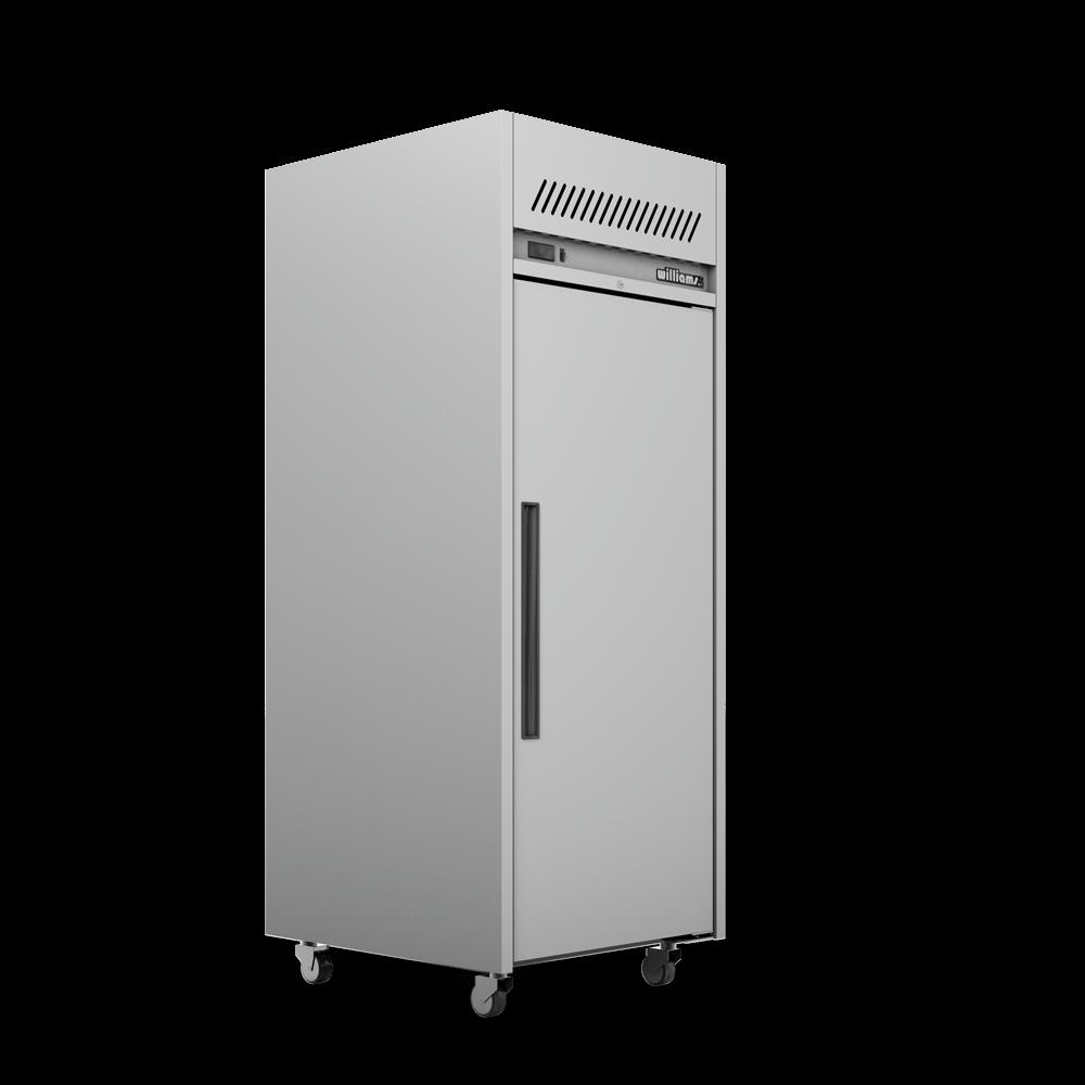 Upright Garnet Refrigerated Cabinet - Side On.