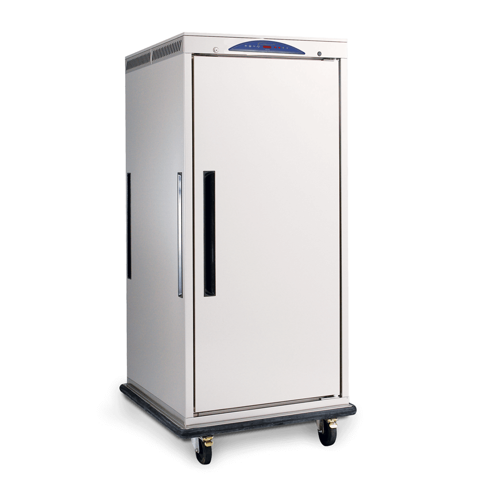Mobile Heated MHC10 Cabinet - Side On.