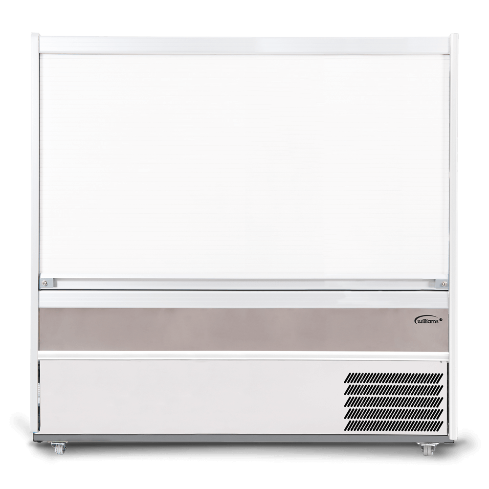R180SCS - Refrigerated Multideck - Security Shutter Closed - Front On.