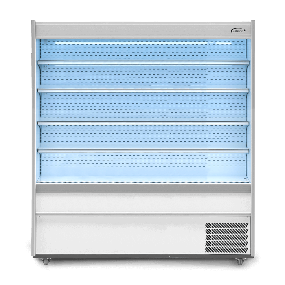 M180WCN - Refrigerated Multideck - Nightblind - Lit - Front On.