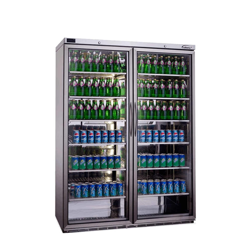 Upright Bottle Cooler 2 Doors BC200