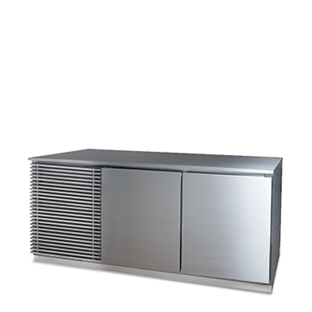 Refrigerated 2 Door Counter.